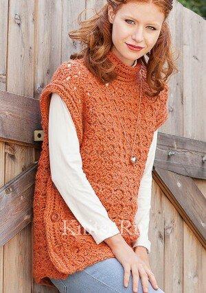 Жилет-пуловер